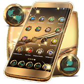 Gold Launcher Theme For Huawei