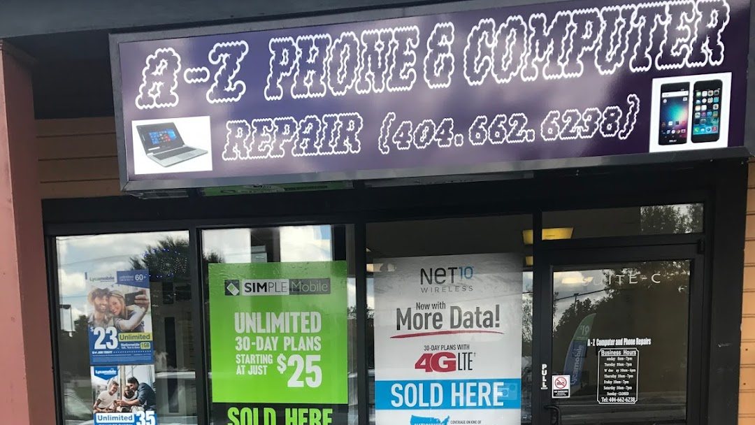 A to Z Phone and Computer Repairs - Cell Phone Repair, Laptop