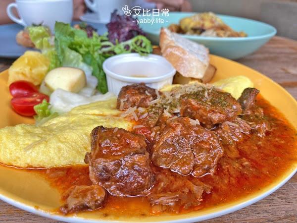 台中餐廳 Hecho做咖啡2店【勤美誠品】隱身巷弄裡的森林系早午餐&異國料理推薦