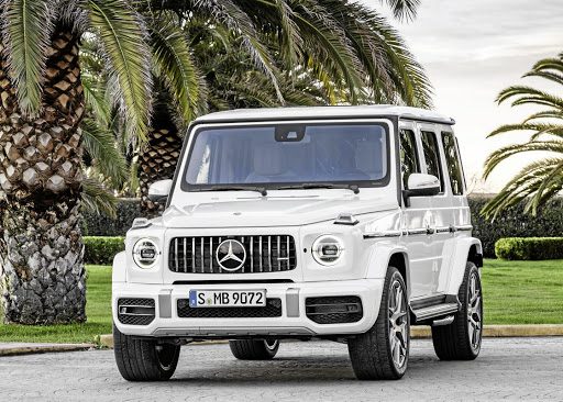 The AMG G63 is still about performance but the company insists it has given it more off-road ability too. Picture: SUPPLIED