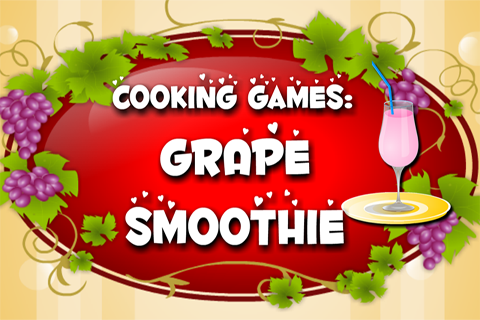 Cooking Game : Grape Smoothie