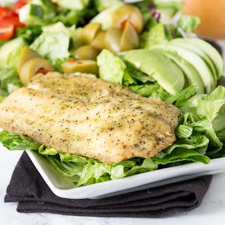 Garlic & Herb Mediterranean Salad.
