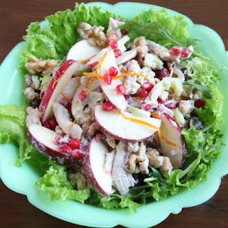 Chicken Waldorf Salad.