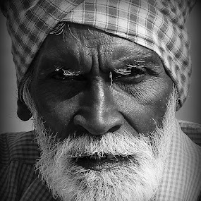 ''Melancholy'' by Kunal Bhattacharya - Black & White Portraits & People (  )