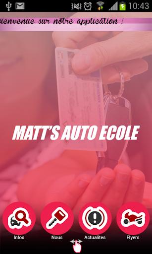 Matt's auto-école
