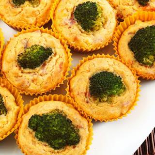 Ham & Broccoli Breakfast Muffins