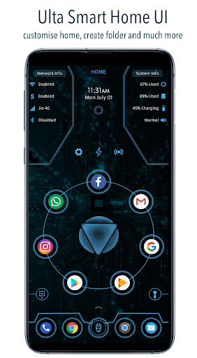 ARC Launcheru00ae 2019: 3D Launcher & Theme | App Lock 20.8 screenshots 1