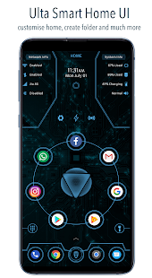 ARC Launcher® 2019: 3D Launcher & Theme | App Lock Screenshot