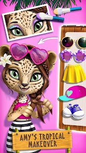 Jungle Animal Hair Salon 2 - Tropical Pet Makeover - náhled
