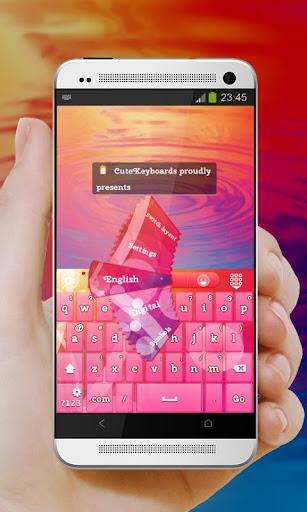 粉红色的星光 GO Keyboard