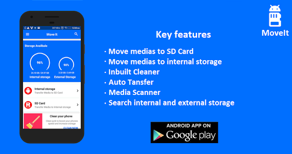 MoveIt: Move Media to SD Card- screenshot thumbnail