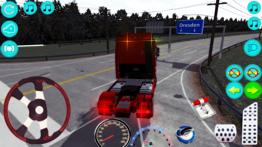 android Actros Truck Simlation Real ! Screenshot 0