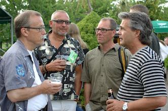 Photo: Snillen spekulerar: Redaktör'n, Kvarnis, Stefan & Alvar