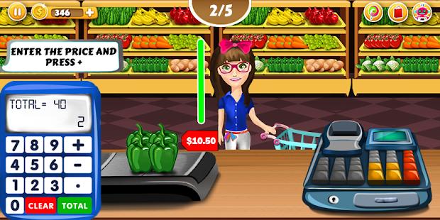Supermarket Pokladník Pro - náhled