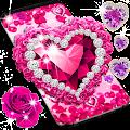 Diamond rose glitter live wallpaper APK