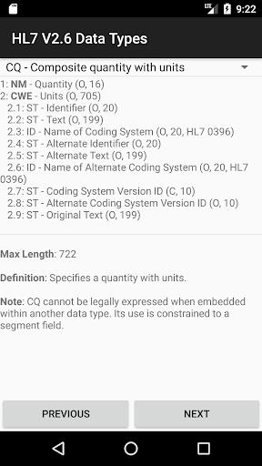 HL7 V2.6 Data Types ss1