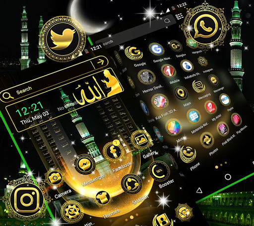 Makka Madina Launcher Theme 1.4 screenshots 3