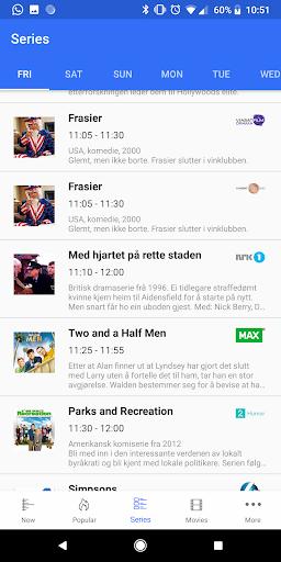Screenshot for TVGuiden in Sweden Play Store