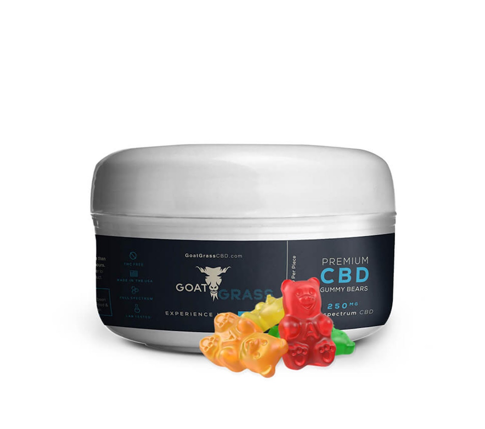 CBD Gummies, CBD Gummy Bears, Gummies, Gummy Bears, Premium CBD, Goat Grass CBD