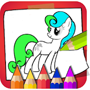 Coloring Horse Pony Beautiful