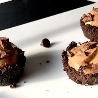 Chocolate French Silk Pie Bites