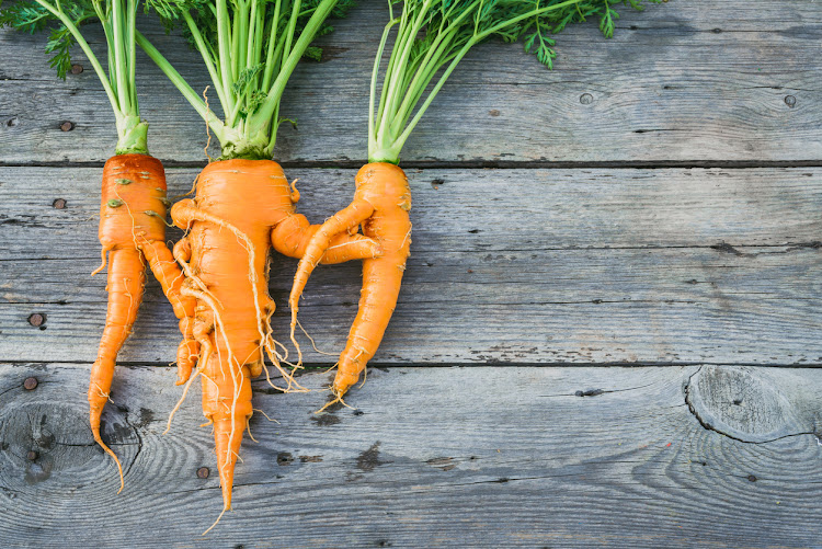 Embrace those wonky carrots to do your bit to end food waste.