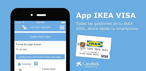 App to manage your IKEA VISA