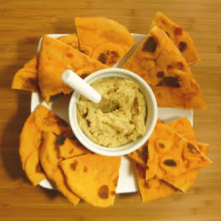 Hummus with Cashew Butter