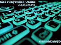 Promosi Jasa Pengetikan Online
