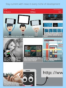 App Developer Magazine- screenshot thumbnail