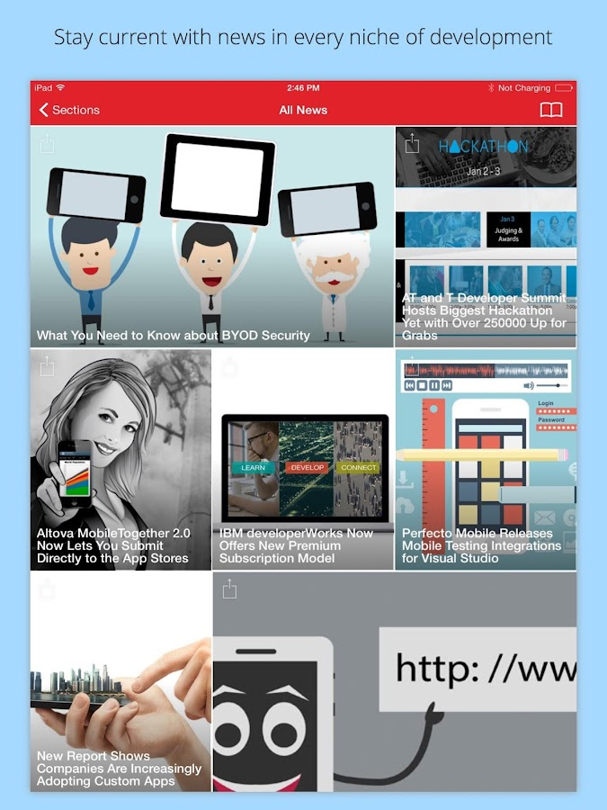 App Developer Magazine- screenshot