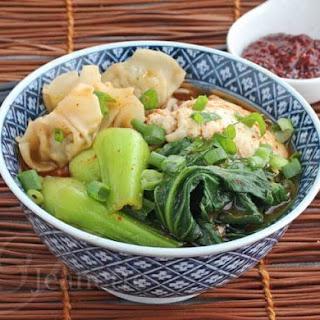 "Spicy Korean ""Ramen"" Noodle Soup."