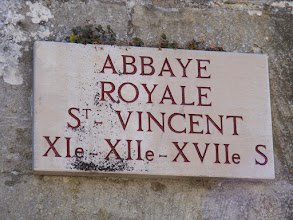 Photo: The ancient abbey in town was founded in 1060 by the wife of Henri I, and is now a school.