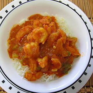 Authentic Cajun Shrimp Creole.