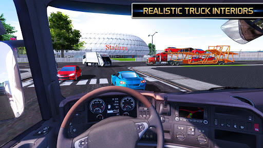 Euro Truck Driving Simulator 2018  screenshots 5