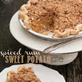 Spiced Rum Sweet Potato Pie
