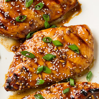 Hoisin Glazed Grilled Chicken