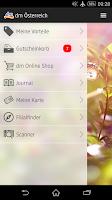 Screenshot of dm Österreich