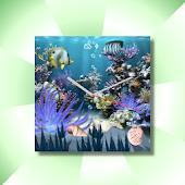 Coral Reef Aqua WatchFace Live