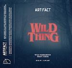 Artifact Cider: Wild Thing