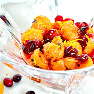 Caramelized Candied Oranges with Cranberries (Bon Appetit, 2011)