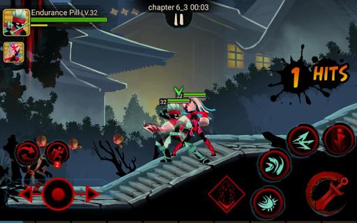 Stickman Ninja Legends Shadow Fighter Revenger War APK MOD – ressources Illimitées (Astuce) screenshots hack proof 2