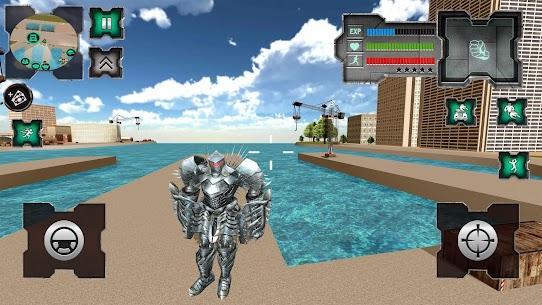 Flying Dragon Robot Simulator :Transformation War 1