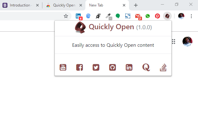 Quickly Open
