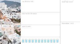 Hillside Daily Diary - Daily Planner item