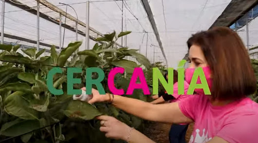 'Las Reinas del Campo' bailan para mostrar el buen hacer de la agricultura