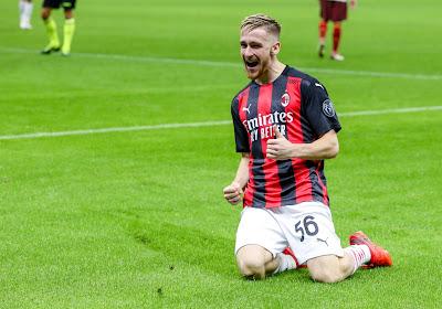 Pas d'Alexis Saelemaekers avec l'AC Milan en Europa League