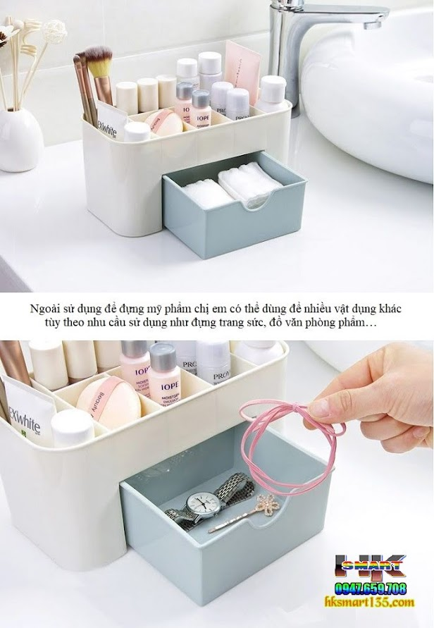 Hộp nhựa đựng mỹ phẩm