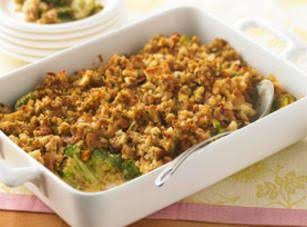 Broccoli Casserole With Stuffing Recipe
