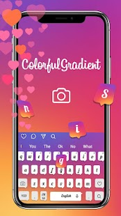 Keyboard Theme for Ins Color - náhled
